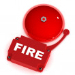 Stock Photo: Help Alarm Bell