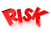 Risk koncept — Stockfoto