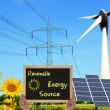 Stock Photo: Renewable Energy Source