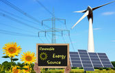 Renewable Energy Source — 图库照片