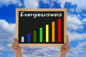 Energy Performance Certificate — Stock Photo