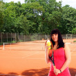 Tennis player — Stock Photo #11401583