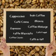 Different types of coffee — Stok fotoğraf