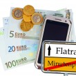 Smartphone Tarfif concept — Stock Photo