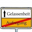 Street sign — Stock fotografie