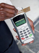 Credit Card Terminal — Stock Photo