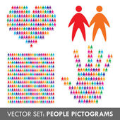 Set of vector icons for design — Stock Vector