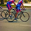Simply cyclists — Stockfoto #11538281