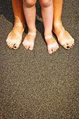 Simply feet — Stock Photo