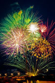 Simply fireworks — Stock Photo