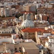 View over the city of Cartagena, Spain - Stock Photo