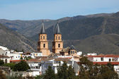 Cathedral of the Andalusian village Orgiva, Spain — 图库照片