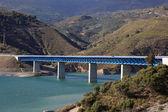Bridge at the Autovia Sierra Nevada in Spain — Stock Photo