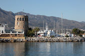 The marina of Puerto Banus, Marbella, Spain — Stock Photo