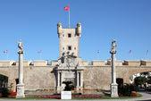 Plaza de la constitucion in cadiz, Andalusie Spanje — Stockfoto