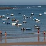 Beach La Caleta in Cadiz, Andalusia Spain — Stock Photo