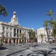 Stock Photo: Plazde SJude Dios in Cadiz, Andalusia, Spain