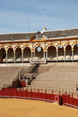 Bullring (Plaza de Toros) in Seville, Andalusia Spain — Stock Photo
