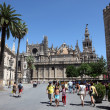 Seville Cathedral, Andalusia Spain — Stock Photo
