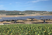 Solar power station in southern Spain — Stock Photo