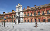 Palacio de San Telmo - now headquarters of the Presidency of Andalusia in Seville, Spain — Stock Photo