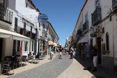 Sokak eski kasaba lagos, algarve portekiz. — Stok fotoğraf