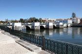 Ancien pont romain de tavira, algarve portugal — Photo