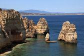 Ponta de Piedade in Lagos, Algarve coast in Portugal — Stock Photo