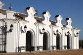 Building exterior in El Rocio, Andalusia, Spain — Stock Photo