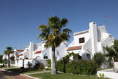 Residential buildings in Matalascanas, Province Huelva, Andalusia Spain — Stock Photo