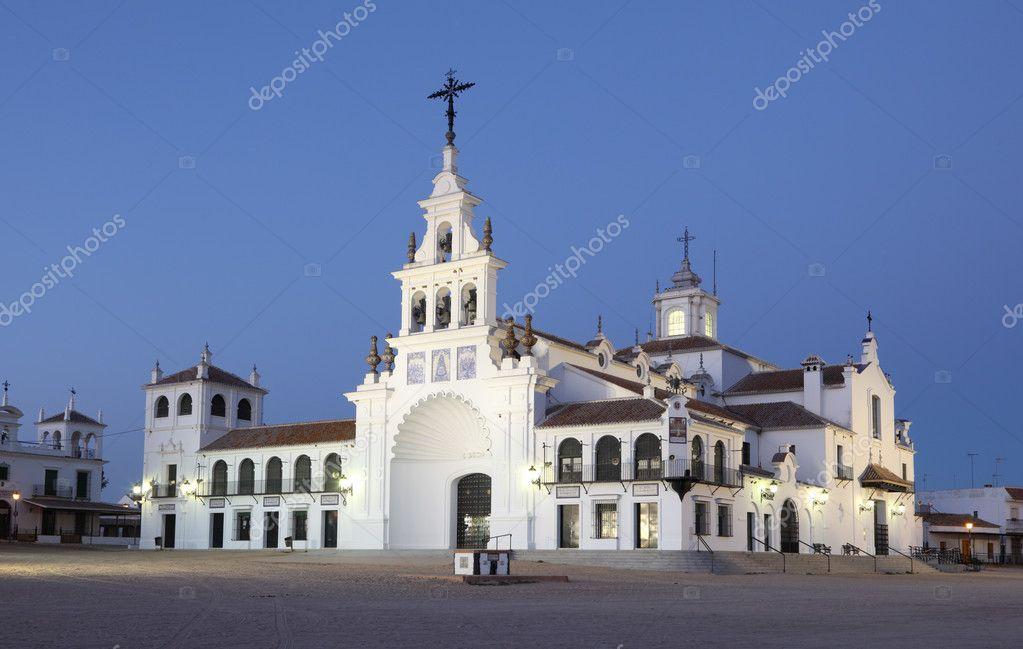 The Hermitage of El Rocío ( Ermita del Rocío or Ermita de El Rocío), Andalusi...