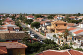 View over the residential district in Matalascanas, Andalusia Spain — Stock Photo
