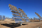 Array of photovoltaic panels of a Solar Power Station — Stock Photo