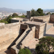 Stock Photo: Ramparts of castle Gibralfaro in Malaga, AndalusiSpain