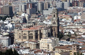 The Cathedral of Malaga, Andalusia Spain — Stock Photo