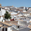Stock Photo: White houses in city of Ronda, AndalusiSpain