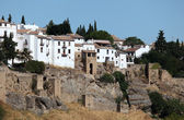 Old town of Ronda, Andalusia Spain — Stock Photo