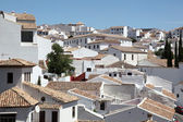 White houses in the city of Ronda, Andalusia Spain — Стоковое фото