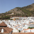 White houses of Mijas Pueblo, Andalusian Village, Spain — Stock Photo
