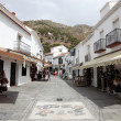 Street in the old town of Mijas, Andalusia Spain — Stock fotografie