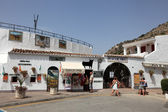Bullring (Plaza de Toros) in Mijas Pueblo, Andalusia Spain — Stock Photo