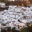 White houses of Casares, Costa del Sol, Andalusia Spain — Stock Photo