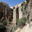 Stock Photo: Famous bridge Puente Nuevo in Ronda, AndalusiSpain