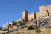Old city wall of Ronda, Andalusia Spain — Stock Photo