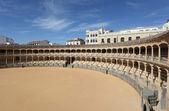 Oldest Bullring (Plaza de Toros) of Spain in Ronda, Andalusia — Zdjęcie stockowe