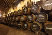 Osborne Sherry Bodega in El Puerto de Santa Maria, Andalusia Spain — Stock Photo