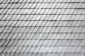 Gray schist roof tiles of an old house — Stock Photo