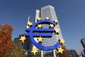 European Central Bank in Frankfurt Main, Germany — Stock Photo