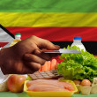 Buying groceries with credit card in zimbabwe — Stock Photo #11189367