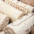 Wine Corks - Foto Stock